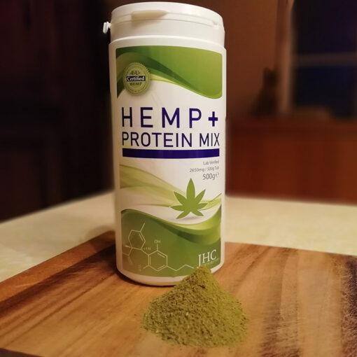 CBD Hemp+ Protein Mix Powder