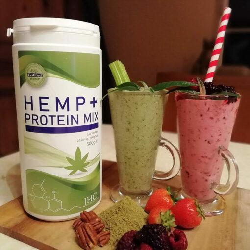 CBD Hemp+ Protein Mix Powder & Desserts