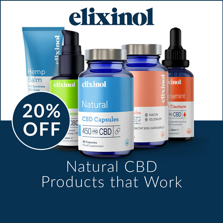 Elixinol 20% Off