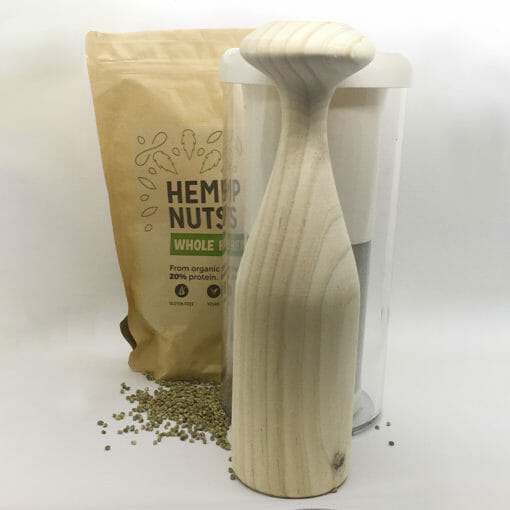 Vegan Milker with Hemp Nuts