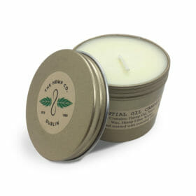 Large Essential Candle by Hemp Company