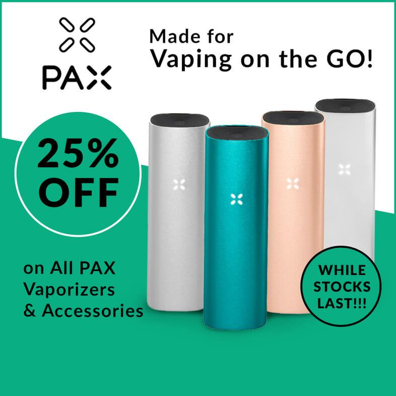 Pax 25% Off