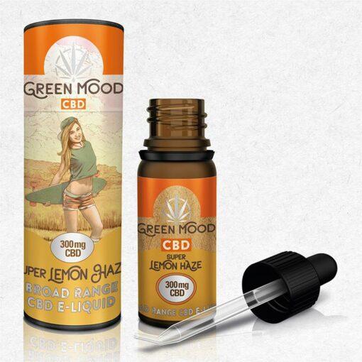 CBD E-Liquid Lemon Haze 300mg by Green Mood