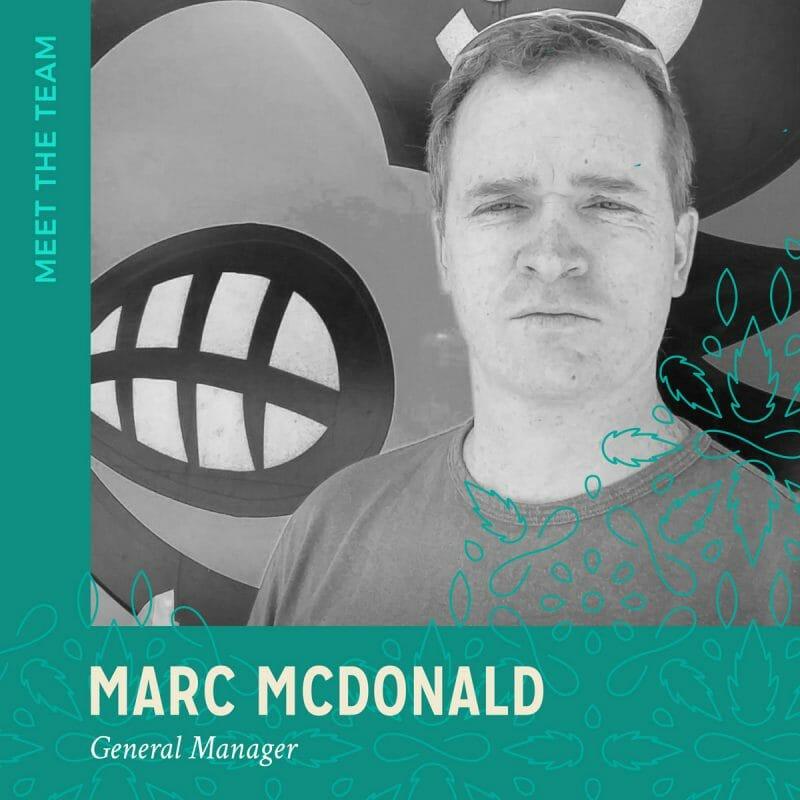 Marc McDonald headshot from The Hemp Company