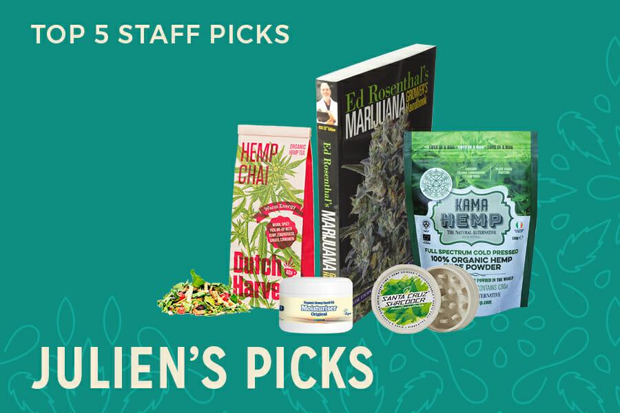 Julien's Top 5 Staff Picks
